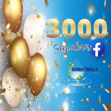 3.000 SEGUIDORES