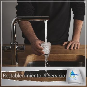 RESTABLECIMIENTO DEL SERVICIO.